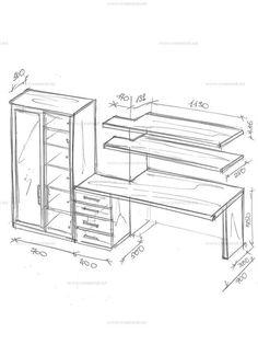 Мебель для домашнего кабинета.