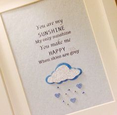 Personalised Framed Gift|Loveheart and diamante