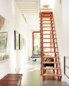 want these steps in my garage up to the attic, too old to be climbing steep ladder
