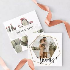 7 Free Wedding Templates including Invite, Save the Date, Menu & Thank You Cards