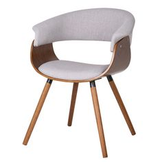 Found it at AllModern - Bent Wood Accent Barrel Chair
