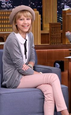 Grace VanderWaal ~ The Tonight Show ~ with Jimmy Fallon ~ 9/23/2016