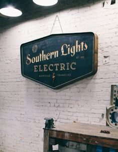 Southern Lights Electric by Sideshow Sign Co.