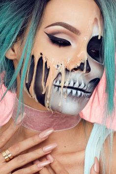 This New Halloween Makeup Tutorial Is Redefining What It Means to Be Two-Faced
