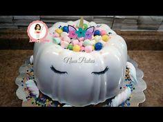 3 en 1/Pastel Imposible de Unicornio / Flan Pan Arcoíris Gelatina - YouTube Gelatin Recipes, Jello Recipes, Flan Pan, Mini Pancakes, Party Stores, Jelly, Cupcake Cakes, 3 D, Sweet Treats