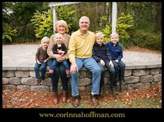 © Corinna Hoffman Photography - www.corinnahoffman.com - Family Portrait Session - Jacksonville, Florida - Family Photographer - Grandparents & Grandchildren