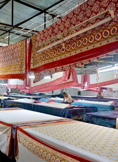 Block Printing workshop . Jaipur, India