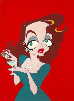 Bette Davis by Oscar da Costa Funny Caricatures, Celebrity Caricatures, Celebrity Drawings, Cartoon Faces, Funny Faces, Bette Davis Eyes, Pop Art, Funny Iphone Wallpaper, Funny Wallpapers