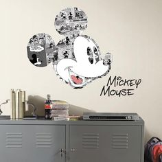 Disney Mickey Mouse Comic Wall Graphics