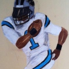 Drawing I did of Cam Newton