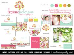 Premade Marketing Package for by SweetSaffronDesigns on Etsy