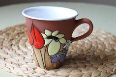 taza con cuerda seca