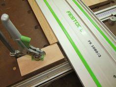 Michas Holzblog: Tipp: MFT Helfer - Anschlag zum sägen schmaler Werkstücke