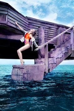 Martha Streck For Elle Brazil January 2012