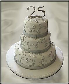 25th wedding anniversary decorations | Cakes and Cakes: 25TH Wedding Anniversary