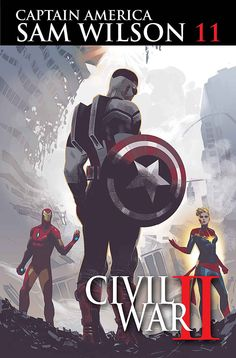 """Civil War II"" Battle Lines are Drawn in Marvel Comics' July 2016 Solicitations"