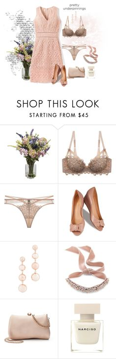 """""""382"""" by treysi-whitney ❤ liked on Polyvore featuring Nearly Natural, Dita Von Teese, Lillybee, Rebecca Minkoff, Fallon, LC Lauren Conrad and Narciso Rodriguez"""