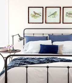 There's a benefit to investing in a solid down comforter. If properly cared for, well-made comforters can last for years, and switching up the look is as simple as switching duvet covers.