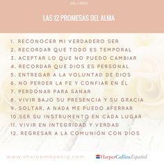 Las 12 promesas, un buen comienzo con #Dios #Citas