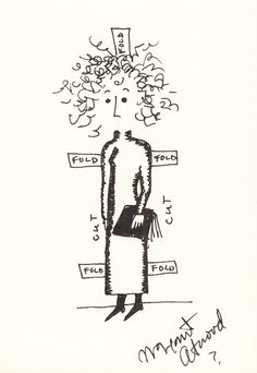 Famous Authors' Hand-Drawn Self-Portraits and Reflections on the Divide Between the Private Person and the Writerly Persona | Brain Pickings...