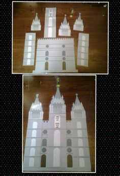 build a temple for primary review game