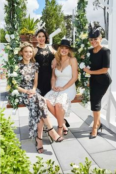 Derby Day fashion, dresses, celebrities and marquees at Flemington Racecourse Derby Day Fashion, Olympia Valance, Home And Away Cast, Matt King, Flemington Racecourse, Elyse Knowles, Robyn Lawley, Melissa George, Jennifer Hawkins