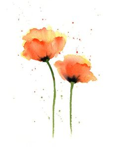 Aquarell Blumen Kunst – Mohnblumen Kunstdruck – Orange Flower Wall Decor – Blumenmalerei Source by etsy Related posts: Blumen Aquarell Malerei Mohnblumen Kunstdruck Orange Blume Watercolor Artists, Watercolor Flowers, Watercolor Paintings, Poppies Art, Watercolor Paper, Watercolors, Simple Watercolor, Watercolor Tutorials, Plant Drawing