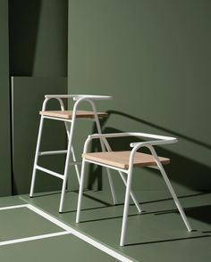 Chair and stool by Dowel Jones design studio of Melbourne.