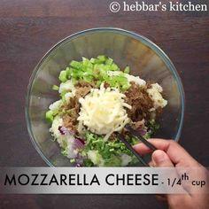 corn cheese balls recipe | how to make sweet corn & veg cheese balls Paneer Recipes, Indian Food Recipes, Vegetarian Recipes, Snack Recipes, Ethnic Recipes, Veg Cheese Balls Recipe, Cheese Ball Recipes, Aaloo Recipe, Corn Cheese