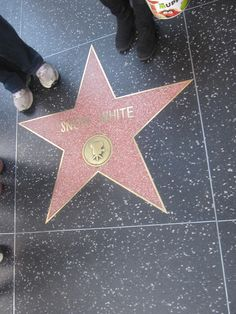 Snow White's Star Hollywood Walk of Fame!