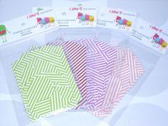 8 Geschenkanhänger Stripes Tags von iLike_specials aus Berlin auf DaWanda.com