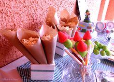 Fiesta de Jorge. Detalles mesa dulce.