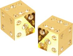 Solid Gold Dice Set With White Diamonds Gold Everything, Or Noir, Gold Aesthetic, Golden Jewelry, Stay Gold, Gold Bullion, Touch Of Gold, All That Glitters, Gold Fashion