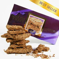 Best Sellers - English Toffee: Scrumptious butter toffee drenched in creamy milk chocolate, and hand-rolled in crushed and toasted almonds. Treat yourself~you deserve it! Butter Toffee, Chocolate Shells, Chocolate Heaven, Toasted Almonds, Chocolates, Best Sellers, Nom Nom, English, Schokolade