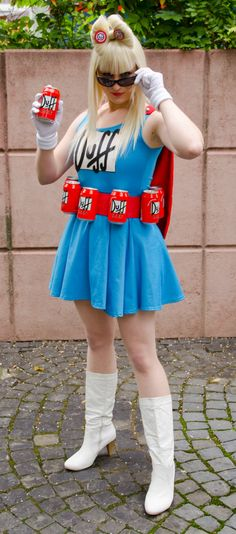The Simpsons Duffman turned Duffgirl by Yu-chan-Cosplay More cosplay at AllThatsEpic& Follow us on Twitter! Submit us your cosplays