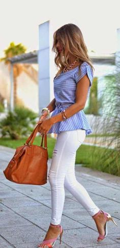 OutFit Ideas - Women look, Fashion and Style Ideas and Inspiration, Dress and Skirt Look Look Fashion, New Fashion, Womens Fashion, Fashion Trends, Classic Fashion, Timeless Fashion, Zara Fashion, Fashion 2015, Jeans Fashion