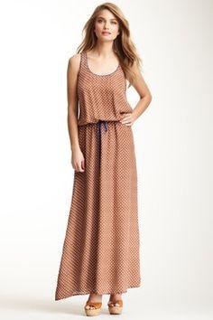 Corey Lynn Calter Holly Maxi Tank Silk Dress
