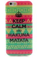 for iphone 6 keep calm Pattern Mobile Phone Case for Apple Iphone 6 Iphone6 Protective Case back cover