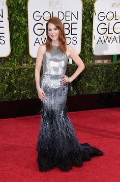 Julianne Moore | All The Looks On The 2015 Golden Globes Red Carpet