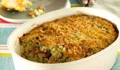 Ρύζι ογκρατέν με μυρωδικά Rice Recipes, Macaroni And Cheese, Grains, Cooking, Ethnic Recipes, Food, Kitchen, Mac And Cheese, Essen