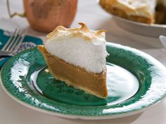 Butterscotch Pie recipe from Trisha Yearwood via Food Network