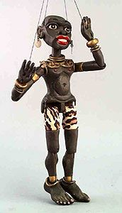 IPM - Exhibit - Black History - International Puppetry Museum ~Repinned Via Marit Wallenberg