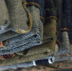 Discovering selvedge denim layer by layer  #denim #jeans #style