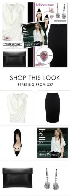 """bella's treasure (Anna's collection)"" by anyasdesigns ❤ liked on Polyvore featuring Alexander McQueen, Miu Miu, jewelry, fashionset and bellastreasure"