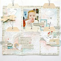 Little Miss by soaphousemama @2peasinabucket Love the tag idea for extra information