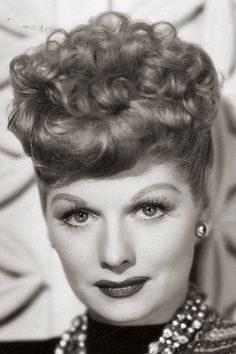 Portrait of Lucille Ball, 1946.