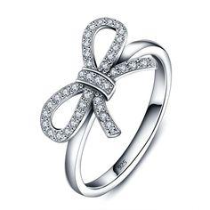 Xyrrona Sterling Silver Rings Cubic Zirconia