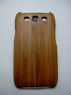 Bamboe hoes Samsung 3s (Blanco)