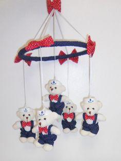 Móbile ursinhos marinheiros