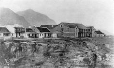 The historical Windsor Hotel in Hermanus, The original core of the building has never been altered. She is the oldest and largest hotel in Hermanus Windsor Hotel, Nordic Walking, Whale Watching, African History, The Good Old Days, Cape Town, South Africa, Old Things, Building